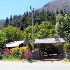 Entrada Cabañas Los Nogales
